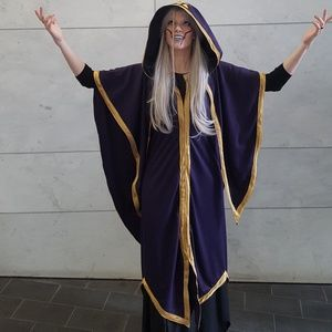 Haggar witch cosplay costume outfit custom made NN.2110
